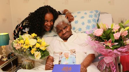 Sylvia Green with her granddaughter Michelle Thomas
