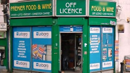 Premier Food and Wine is in Dudden Hill Lane (Pic: Google)