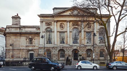 The exterior of Old Sessions House as it is now. Picture: Satila Studios/Dino Soldin