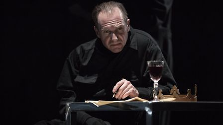 Ralph Fiennes as Richard III. Picture: Mark Brenner