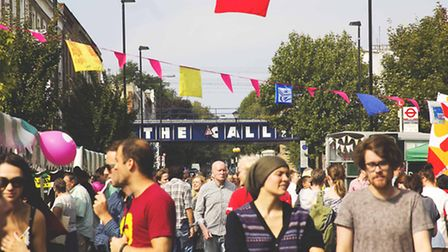 Cally Festival pictured in 2014. Picture: Cally Festival