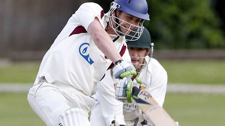 Will Prest was Hornsey's top scorer with 60 as they went down by two wickets at Acton