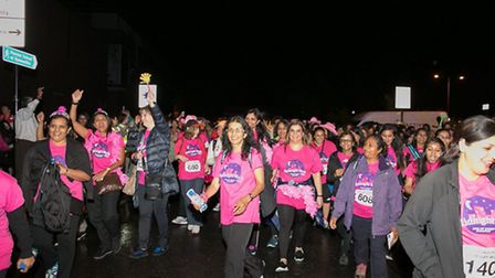 Walkers have pledged more than �160,000 for St Luke's