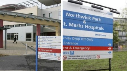 The trust runs Central Middlesex and Northwick Park hospitals