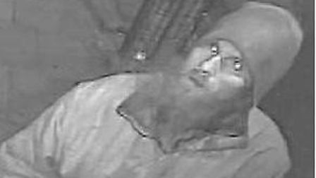Police want to speak to this man about the meat throwing incident at Finsbury Park Mosque on Thursda