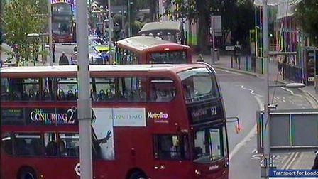 Buses are on diversion in Wembley (Pic: Twitter@TfLBusAlerts)