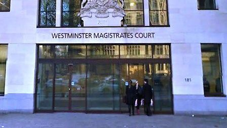 Westmisnter Magistrates' Court (Pic: Google)