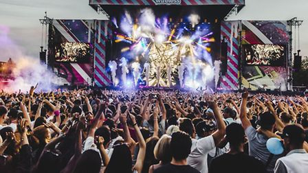 Main stage at the Wireless Festival in Finsbury Park in 2015. Picture: Andrew Whitton