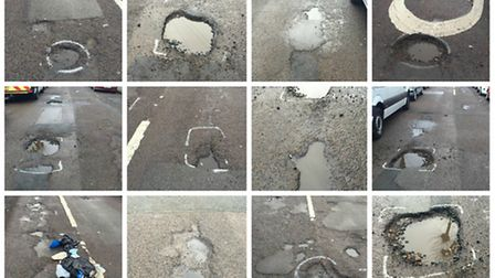 One in six roads in Brent are in need of repair (Pic: Maydine Etienne)