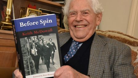 Keith McDowall has written a book on his time as advisor to ministers between 1968 and 1978: before