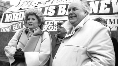 Keith McDowall is husband of Brenda Dean, the first woman trade union leader. She was general secret