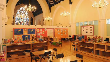 The classroom at St Andrews