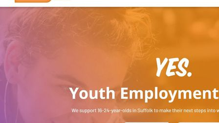 The new East Suffolk Youth Employment Service (YES) website. Picture: The East Suffolk Youth Employm