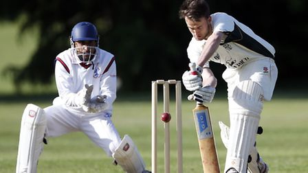 Will Lake top scored for North London in their win against Winchmore Hill