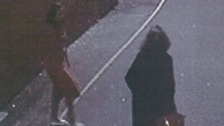 CCTV image of the women who may have witnessed the murder