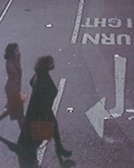 CCTV footage of two women detectives want to identify
