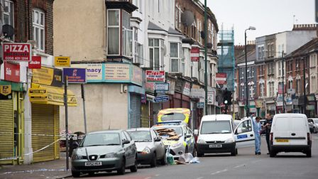 The man was attacked in Bertie Road (Pic: Jonathan Goldberg)