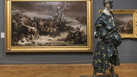 Pieces from the Fashion and Freedom exhibition