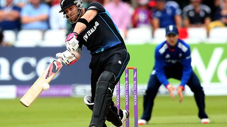 New Zealand's Brendon McCullum hits out against England in 2015