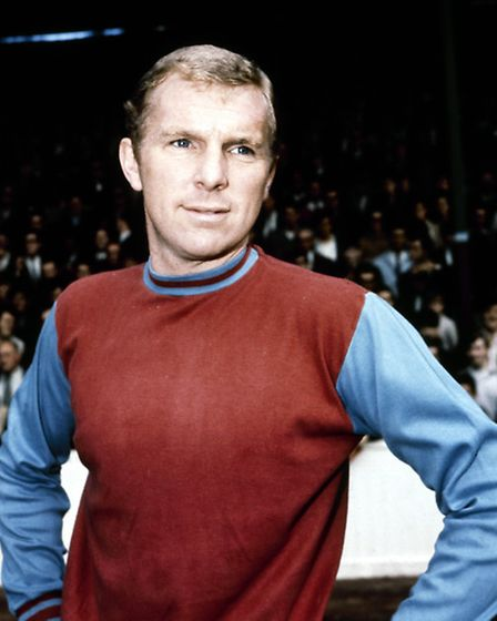 Bobby Moore playing for West Ham United. Picture: Action Images / MSI
