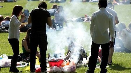 Barbecue in Highbury Fields Picture: Stephanie Knight