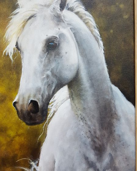 A new art exhibition, 'Horses, Hores, Horses...and other stuff'' has started at Windsor Gallery in