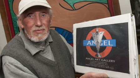 Stephen Flanagan wants to build a 25ft glass angel on top of Angel station. Picture: Nigel Sutton