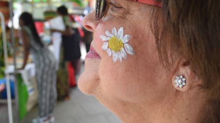 Young and old had their face painted at the Heart of Wembley Festival Pic credit: Francis Henry