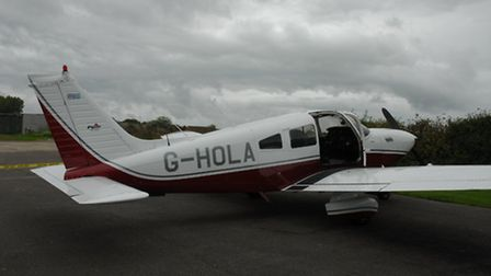The drugs were found inside this plane (Pic: NCA)