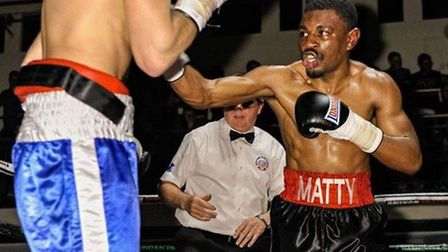 Matty Chanda (right) is relishing taking to the ring again this Saturday at York Hall