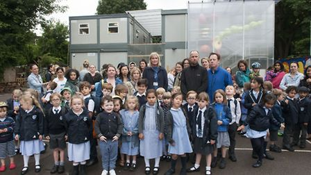 The school is looking for more temporary accommodation from October until December. (Picture: Nigel