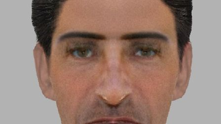 A previously released e-fit of the man police want to trace over the attempted rape in Highbury