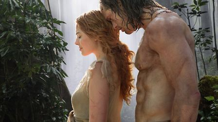 The Legend of Tarzan. Picture: Jonathan Olley/Warner Bros