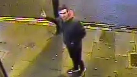 Do you recognise this man? He's suspected of bottling two men in the World's End pub, Finsbury Park.