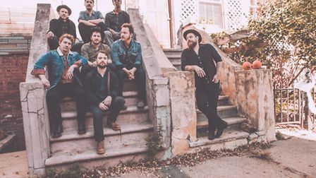 Nathaniel Rateliff and The Night Sweats. Picture: Brantley Gutierrez
