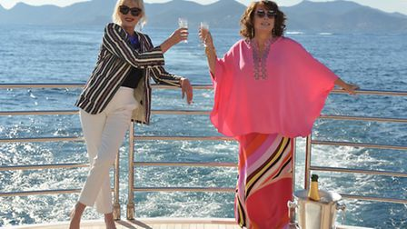 The Book Club will become Absolutely Fabulous. Picture: David Appleby