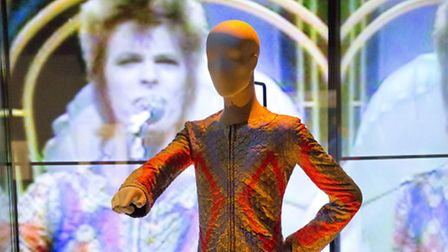 An installation shot of David Bowie Is. Picture: David Bowie Archive/Victoria and Albert Museum