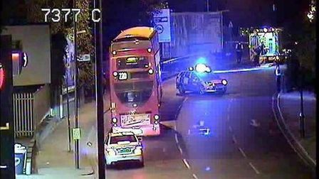 Man is seriously injured following reports of a hit and run in Harlesden Pic credit: @tfltrafficnew