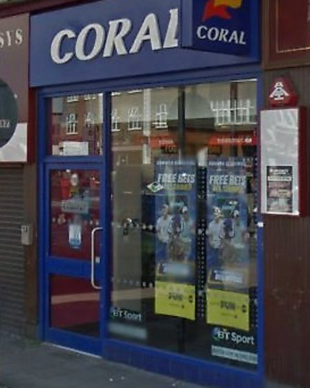 Bailey raided this branch of Coral in Kingsbury Road (Pic: Google)