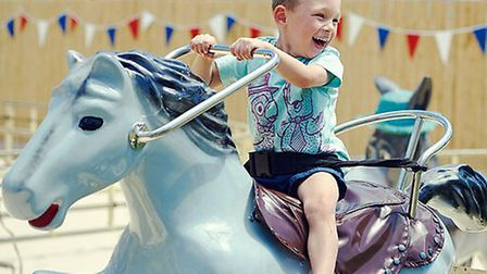 A wealth of fun awaits young children at the Beach at Brent Cross