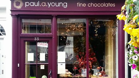 The chocolate shop in Camden Passage