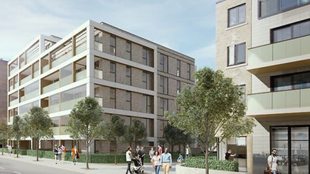 How the 52 flats in Chippenham Gardens will look (Pic: Brent Council)