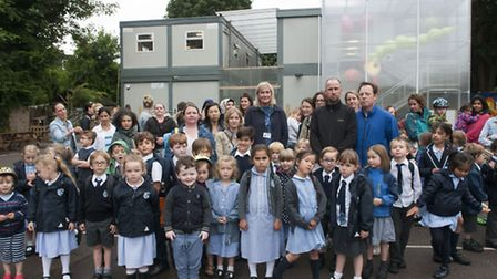 Whitehall Park School has been in temporary blocks since opening in 2014. (Picture: Nigel Sutton).