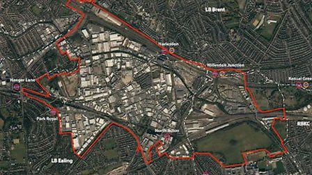 Old Oak Common regeneration is planned over a 30 year period.