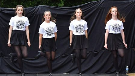 Performers fromTheresa O'Donogue school of dancing (Pic: Francis Henry)