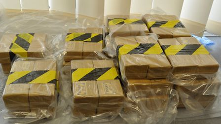 Some of the heroin found in the bust that saw Canonbury man Yasar Ozekmecki jailed for 10 years. Pic