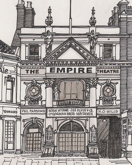 Empire Theatre in Islington High Street... now RBS. Picture: Nick Charlesworth