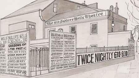 Sadler's Wells Theatre in its 20th century guise. Picture: Nick Charlesworth