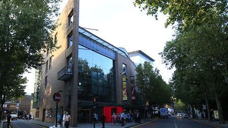 Sadler's Wells Theatre in its current guise. Picture: Jonathan Brady/PA