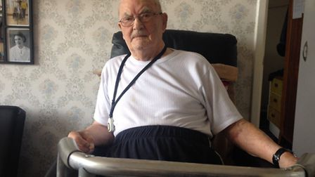 Fred Hodge, 100, has been housebound in Wembley for more than three months